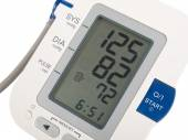 Blood pressure monitor — Stock Photo