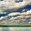Beautiful lake with dramatic clouds. — Stock Photo #52038149