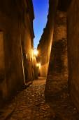 Old narrow street in Lublin. Poland — Stock Photo