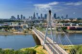 Warsaw cityscape — Stock Photo