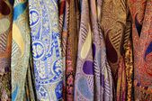 Colorful scarves. — Stock Photo