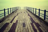 Wooden pier. — Stock Photo
