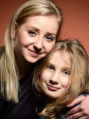 Young mother with daughter. — Stock Photo
