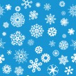 Snowflakes Seamless Background — Stock Vector #57021935
