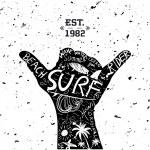 Surfing Design — Stock Vector #57023483