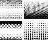 Gradient background set — Stok Vektör