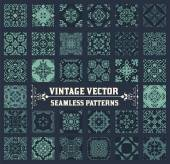 36 Seamless Patterns Background Collection - for design and scra — Stock Vector