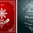 Christmas typographic label for Xmas and New Year holidays desig — Stock Photo #58573713