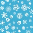 Snowflakes Seamless Background — Stock Vector #62681659