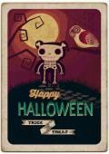 Halloween Poster. — Stock Vector