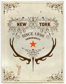Old paper with design elements. — Vetor de Stock