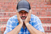 Boredom - the enemy of human happiness — Stock Photo