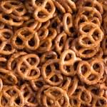 Background texture of mini pretzels — Stock Photo #70812439