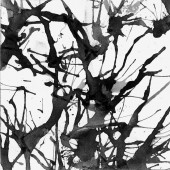 Grunge vector paint ink blot background — Stock Vector