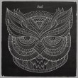 Decorative ornamental Owl head — Stockvektor  #60187065