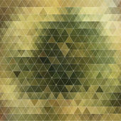 Abstract triangles background for design — Vettoriale Stock