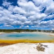 Sunset Lake Thermal Pool Yellowstone — Stock Photo #53083143