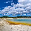 Sunset Lake Thermal Pool Yellowstone — Stock Photo #53083169
