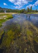 Firehole River — Stock Photo