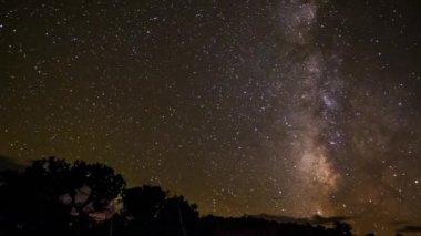 Milky Way Time-lapse — Stockvideo