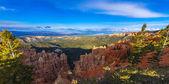 Ponderosa Canyon lid by Beautiful Sunset light — Stock Photo