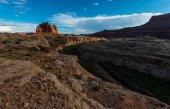 Glen Canyon at Sunset — Stock Photo