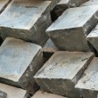 Granite paving sets stacked ready for use — Stock Photo #51910123