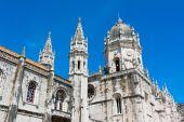 Jeronimos Monastery  Lisbon Portugal — Stock Photo