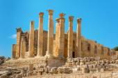 Ancient Jerash Jordan Temple of Artemis — Stock Photo
