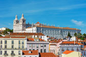 View of Lisbon Saint Vicente de Fora Monastery, Portugal — Stock Photo