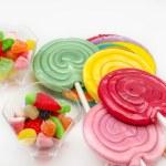 Several sweet lollipops — Stock Photo #63808105
