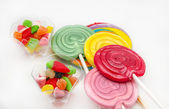 Several sweet lollipops — Stock Photo
