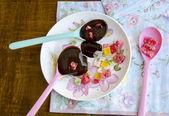Krem çikolata — Stok fotoğraf