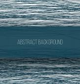 Abstract blue chaotic sketch lines background and rectangle banner with shadow — Stock Photo