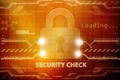 Computer data hacked — Stock Photo