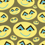Abstract smiles — Stock Vector #61357069