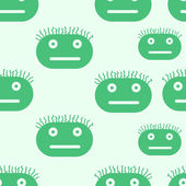 Green mugs — Stock Vector
