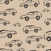 Unsightly cars — Stock Vector
