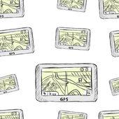 Seamless navigators — Stock Vector