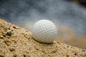 Balle de golf blanc — Photo