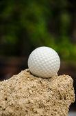 Bola branca — Fotografia Stock
