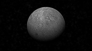 The Moon & Stars Animation — Stock Video