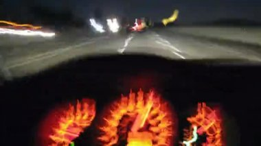 Freeway guida + calibri (time-lapse) — Video Stock