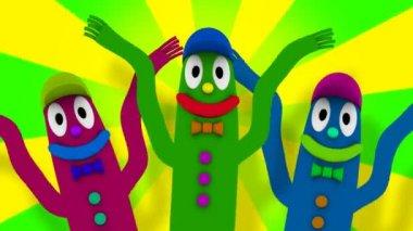 Wacky Inflatable Tube Guys — Stock Video