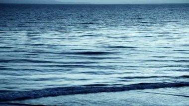 Reflective Dark Ocean — Stock Video