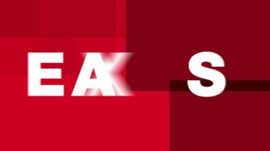 TAXES - Text Animation Graphics — Wideo stockowe
