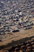 Aerial view of apartment houses in Dubai city (United Arab Emira — Stock Photo