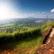 View from Sigiriya Lion Rock Fortress in Sri Lanka — Stock Photo #65108575