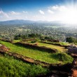 View from Sigiriya Lion Rock Fortress in Sri Lanka — Stock Photo #65110255