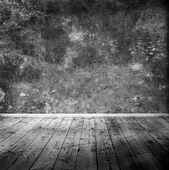 Ahşap zemin ile boş oda — Stok fotoğraf